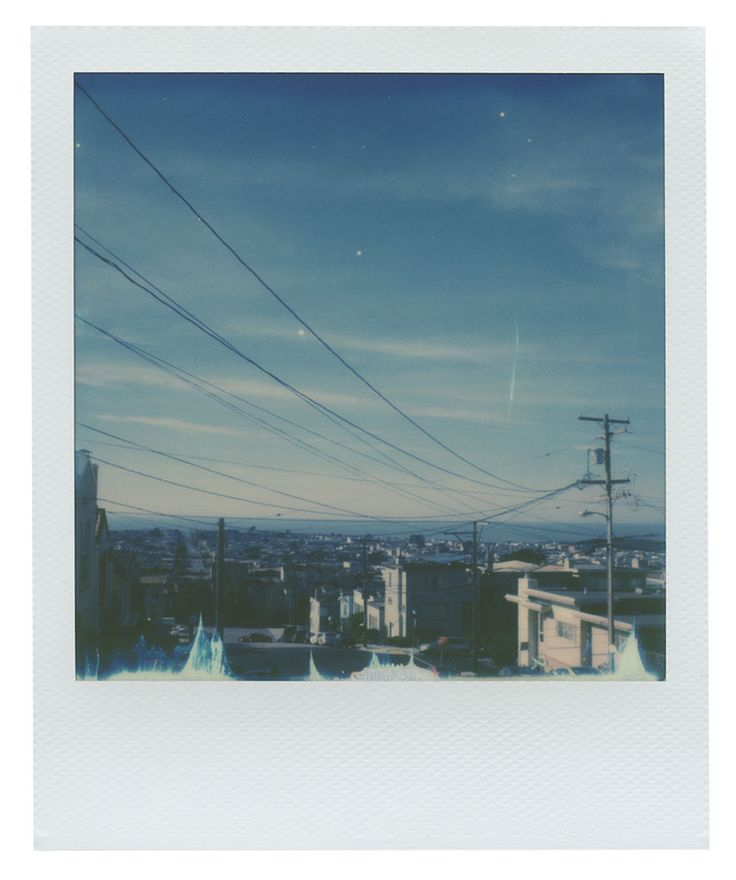 Streets of Inner Sunset in San Francisco, California | Shot of Polaroid 600 film