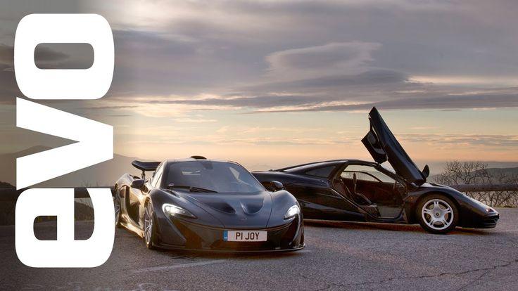 McLaren P1 vs McLaren F1 [evo Review] #cars #autos #mclaren #mclarenf1 #mclarenp1 #design #performance #hot #evo