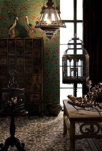 .: Decor, Drawings Rooms, Living Rooms, Birds Cages, Lights Fixtures, Moroccan Interiors, Moroccan Lamps, Birdcages, Keep Rooms