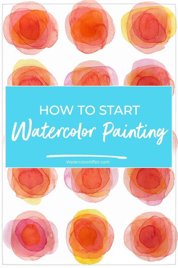 Learn how to start watercolor painting with this e…