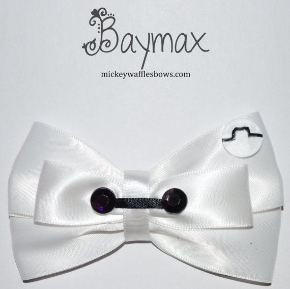 Fingers crossed I'll get this bow in time for the big hero 6 premiere!!! #baymax