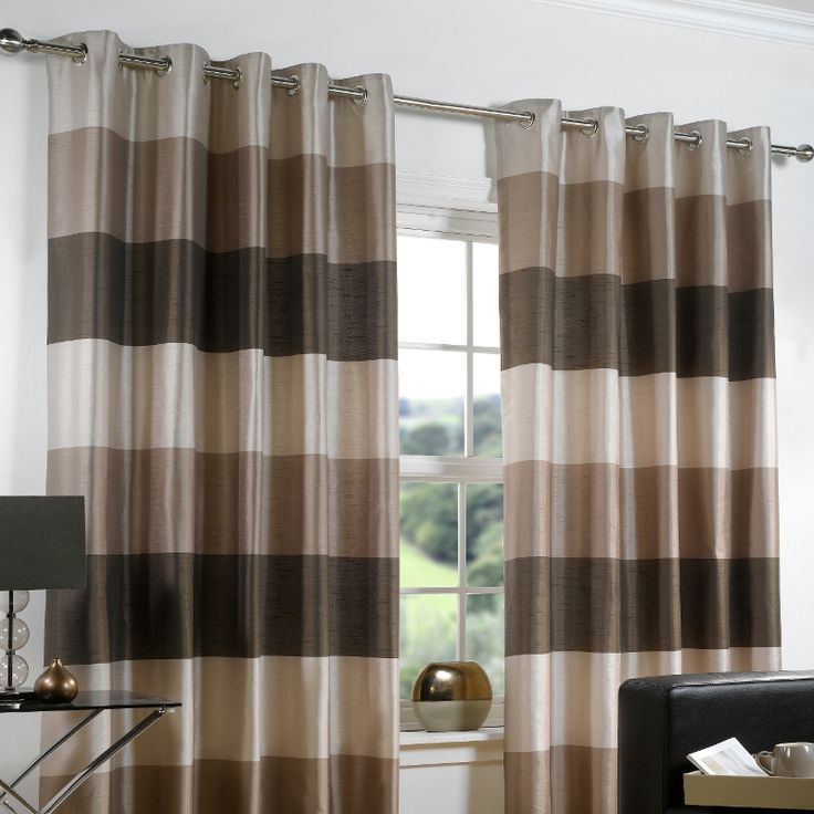 Cozy modern curtain ideas for living room eyelet for Modern living room curtains uk