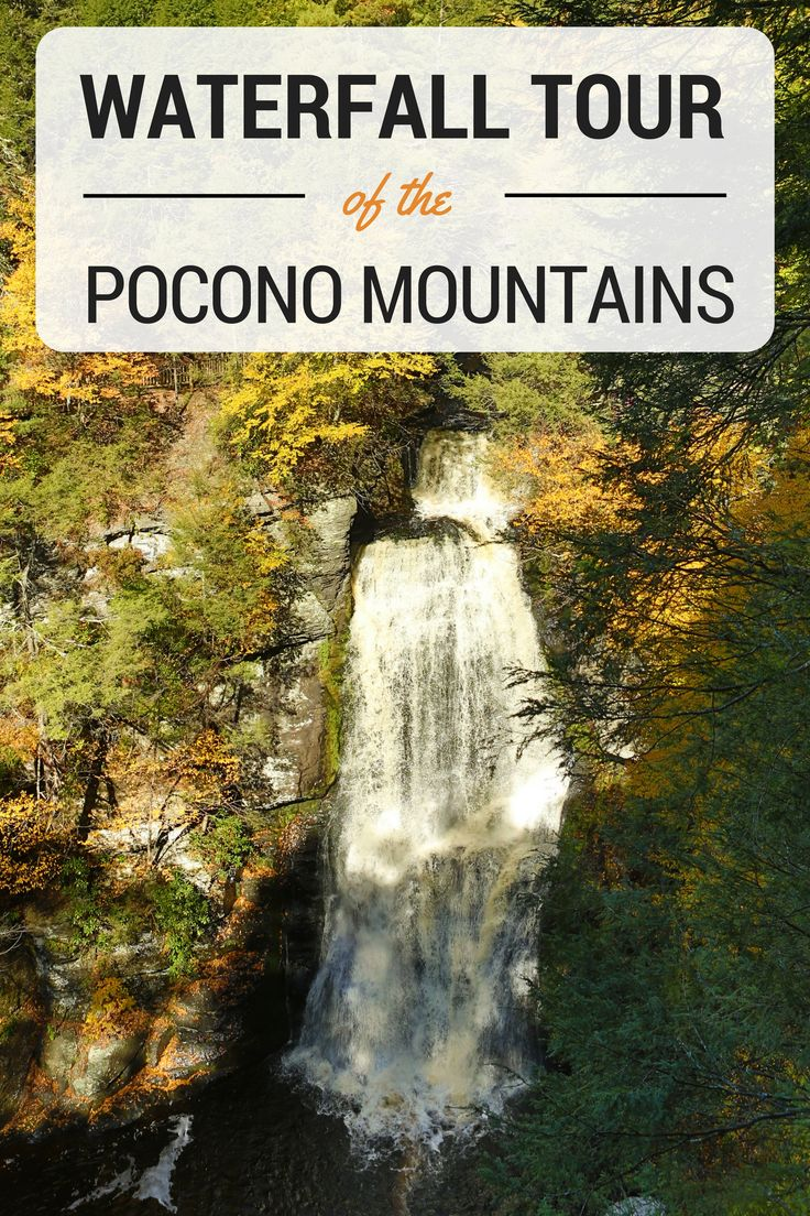 You're never far from the falls in the Pocono Mountains! #PoconoMtns
