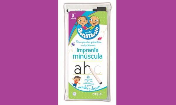 "Catapulta editores presenta ""Mini Abremente Imprenta Minúscula"""