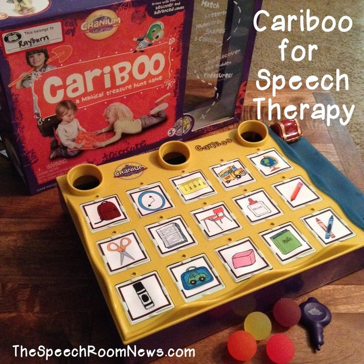 Cariboo For Speech Therapy: adapting cariboo! From Speech Room News