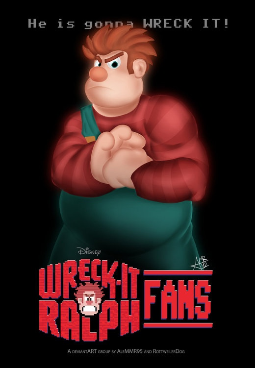 Wreck-It Ralph #iPicTheaters