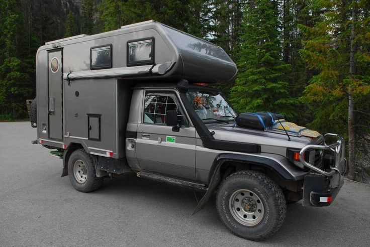Tacoma Travel Trailer >> This Toyota Land Cruiser 70-series might just be the ticket for your round the world jaunt ...