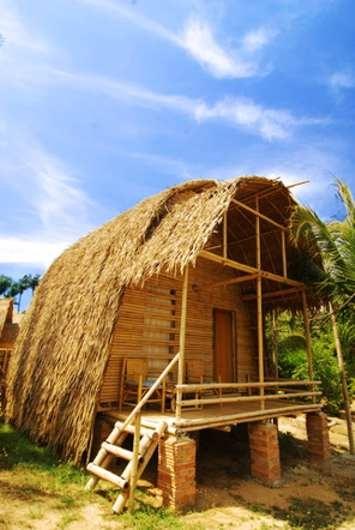bamboo beach hut, Koh Lanta