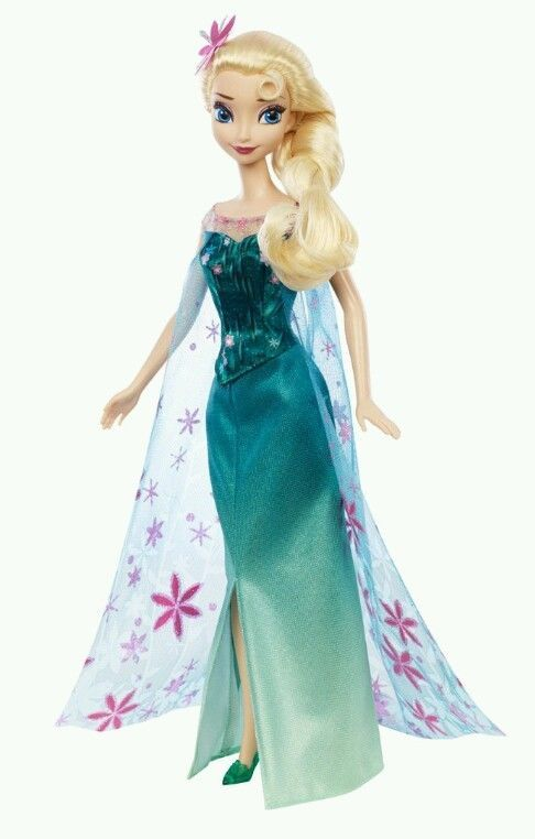 EASTER basket treat! ELSA FROZEN FEVER DOLL Summer Birthday Party Barbie Disney Princess Anna Sister in Disney Princesses | eBay