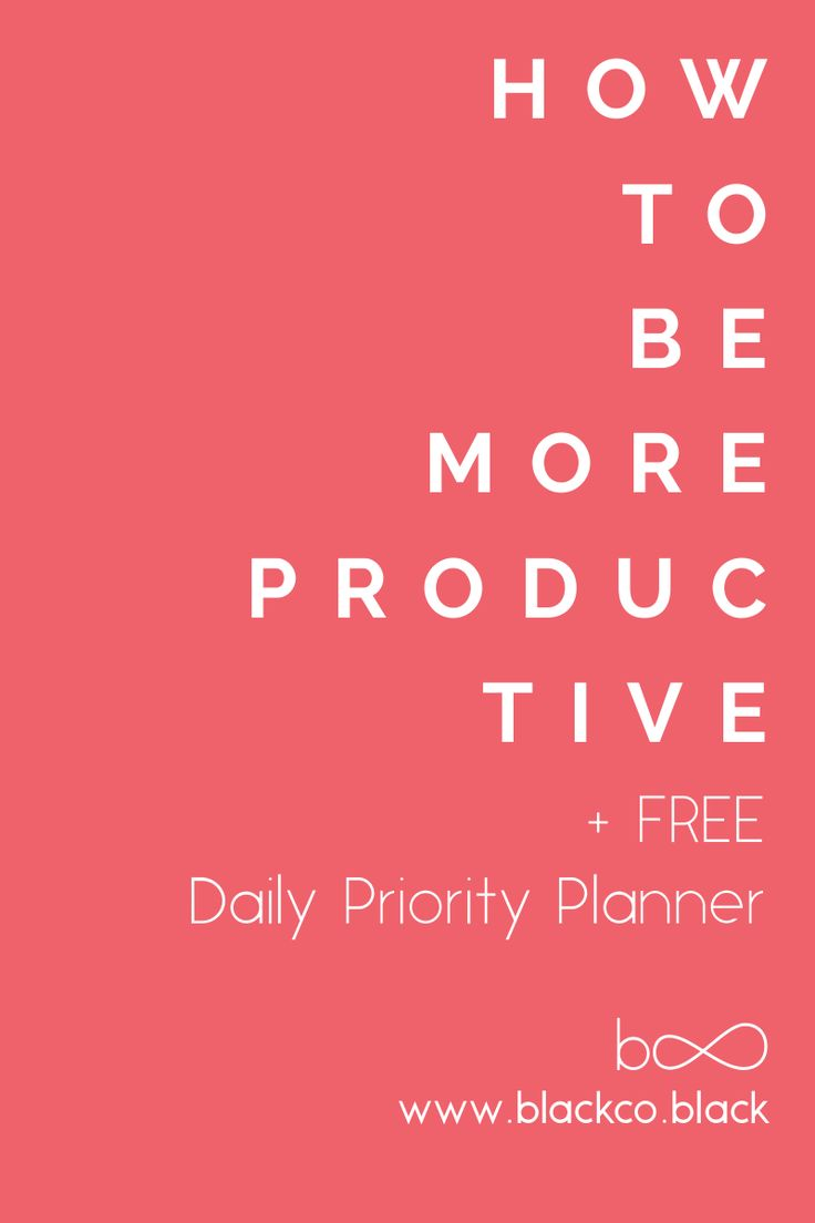 Productivity. You are right, this is another post about productivity. I love productivity. This post is my point of view, it is what I have learned about how to be more productive over my life, now I am sharing it with you. Let´s do it! Get your Free Daily Priority Planner!