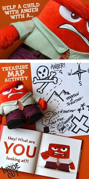 Your kid having a bad day? Have your kid create an Anger Map, inspired by Disney Pixar's Inside Out, to change their mood. Find out why your kid is angry and navigate them towards a solution that will make them feel better whether it is talking to a friend or avoid certain situation. Be sure to check it out on Disney Movies Anywhere on 10/13 and Blu-ray 11/3.