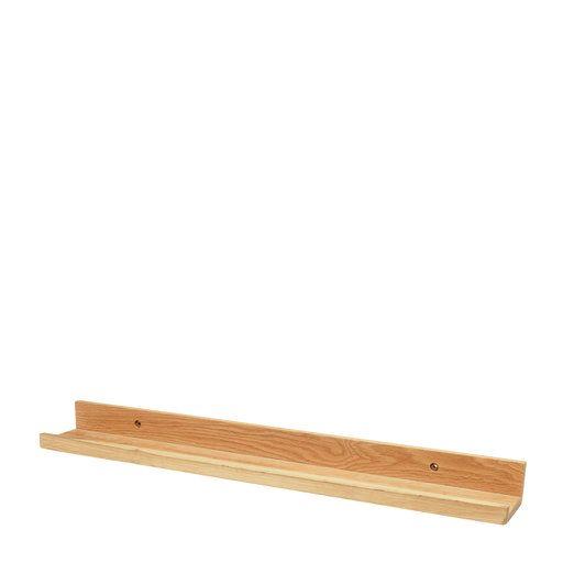 Tavellist, 60x10 cm, brun