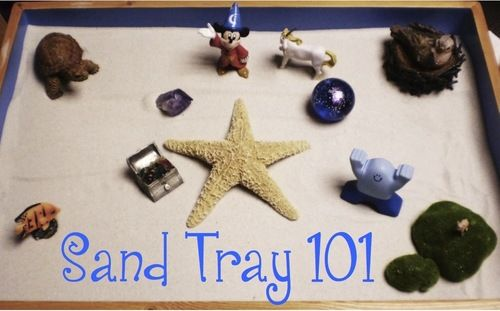 1. Direct a child to create a scene (can be general or specific) Click here for a list of basic suggestions for sand tray activities. Allow...