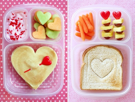 cute kid snacks for V-day