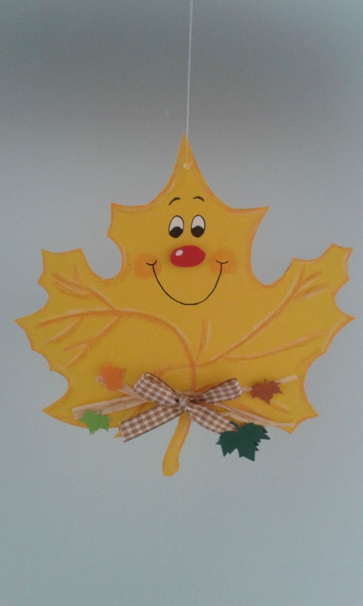 Fensterbild Blätterkette -Herbst- Dekoration - Tonkarton! • EUR 6,90