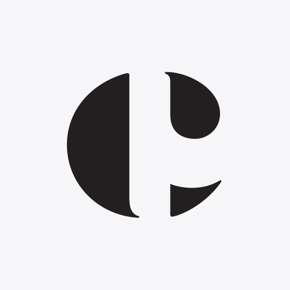 CP monogram by The Counter Press