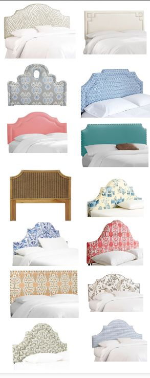 NEW TODAY - Great new patterns in head boards and beds