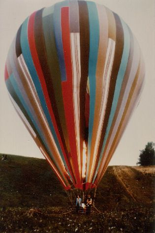 The true account of the family that crossed the Berlin Wall in a balloon.