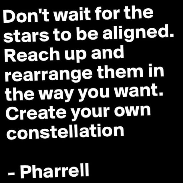 Create Your Own Constellation // Pharrell Williams