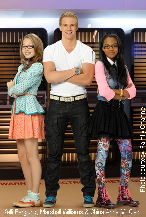 Kelli Berglund, Marshall Williams & China Anne McClain