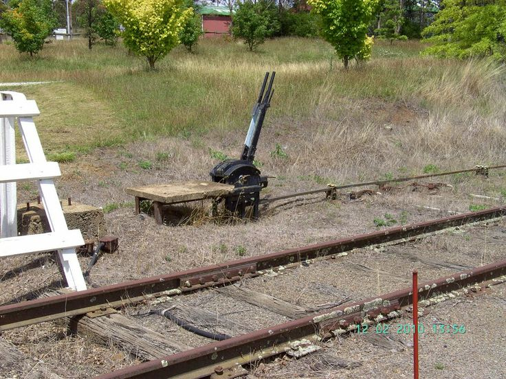 Points switch at Guyra NSW