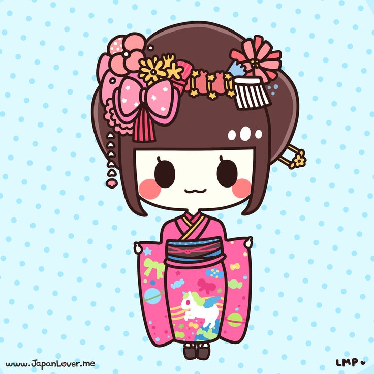 The furisode (振袖) is a style of kimono that is made of very fine, brightly colored silk, and is commonly rented or bought by parents for their daughters to wear when celebrating Coming of Age Day the year they turn 20.  ♥ www.japanlover.me ♥