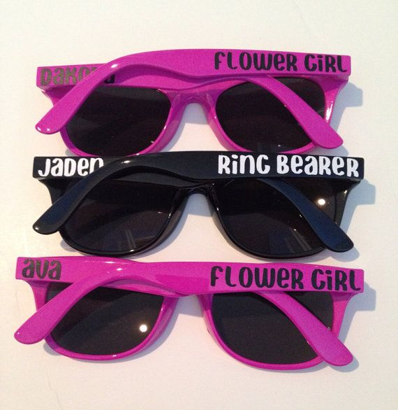 Ring Bearer and Flower Girl Sunglasses