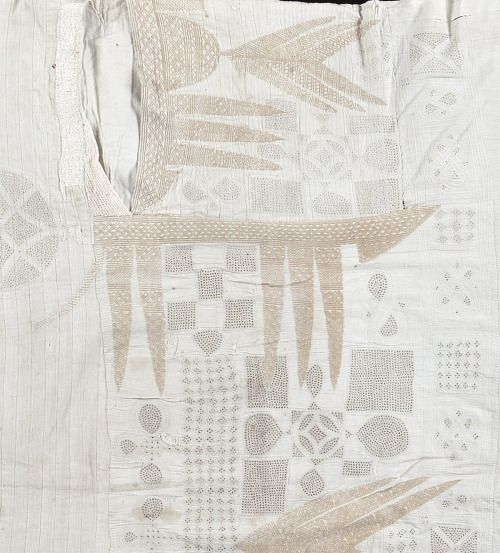 vauxvintage: 19th century- West African textile