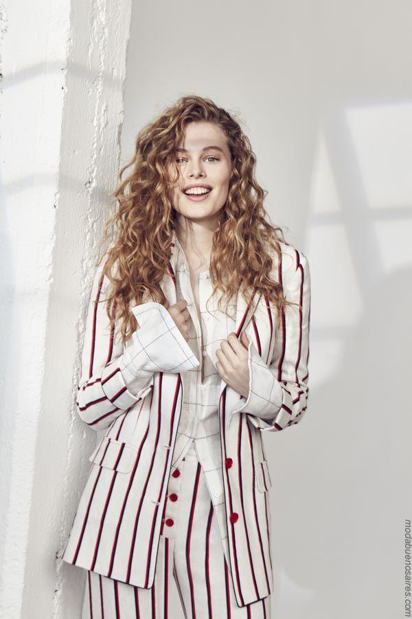 99544c7b9082d Trajes de moda mujer primavera verano 2019 ropa.
