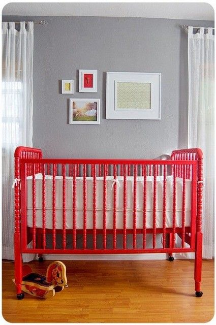 12 Gender-Neutral Baby Nursery Ideas. We will never find out what the sex of any of our babies are.. #bigbabybasketsweeps