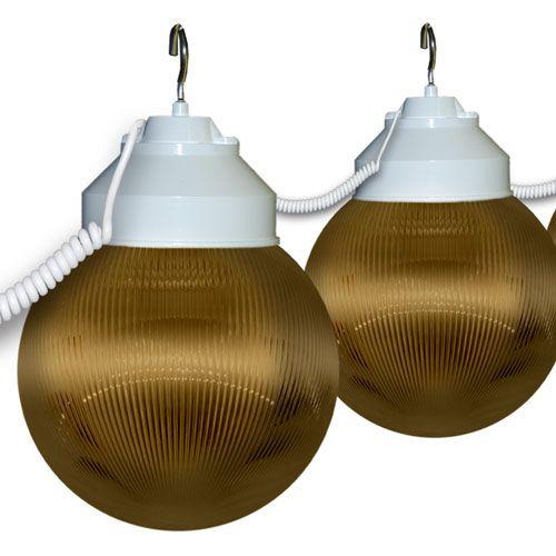 Awning Lights - 6 Globes (Bronze)