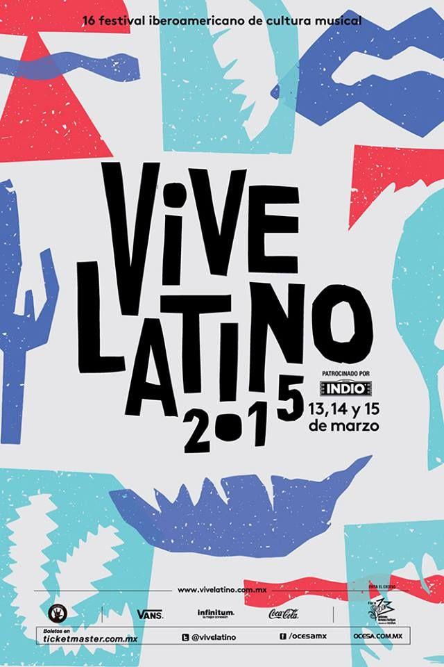 """Horarios Festival Vive Latino2015 """"Carpa Rockampeonato"""