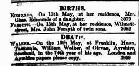 Mercury (Hobart, Tas. : 1860 - 1954), Thursday 17 May 1877, page 1