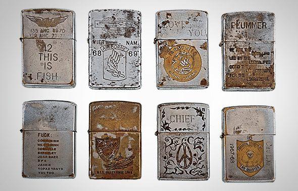 Vietnam Zippo Lighter Collection