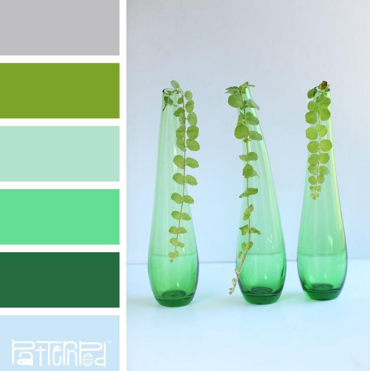 Feng Shui Keuken Kleuren : Botany Blue Color Palette