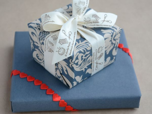 Super sweet sewing-themed ribbon