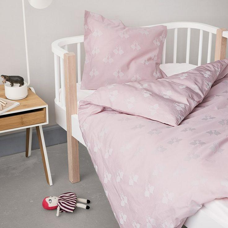 Georg Jensen damask Fairytales sengetøj, lyserødt, juniordyne