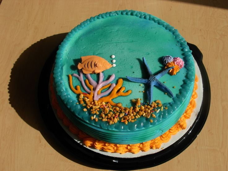 Cake Designs At Dairy Queen : Under the Sea DQ Dairy Queen Ice Cream Cake  The Cake ...