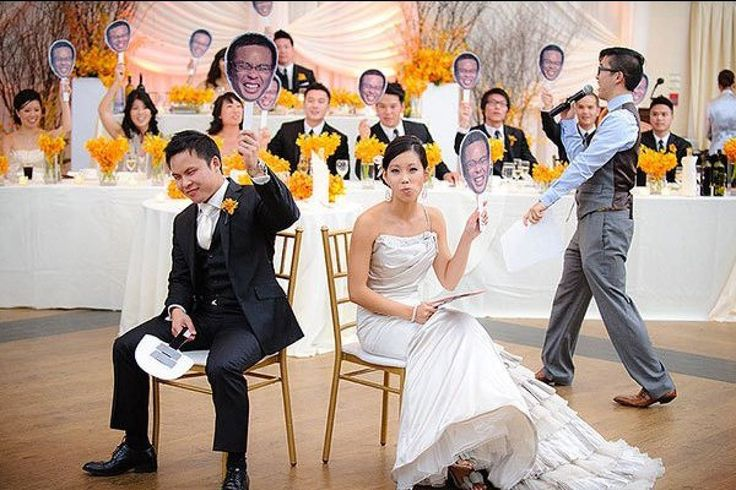This game would be fun. 15+ Ways to Make Your Reception More Fun | Bridal Guide