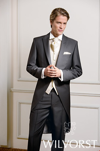 Groom morning suit