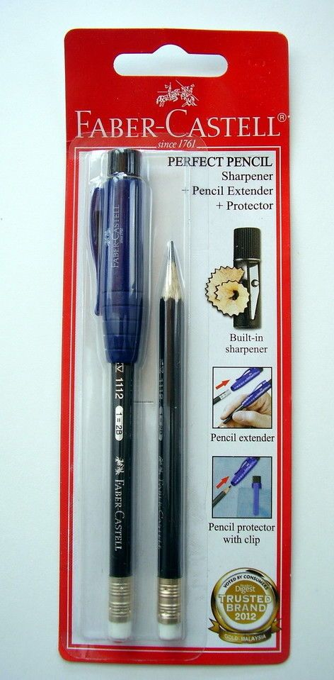 faber castell Perfect Pencil New Sealed Lápiz Perfecto Faber Castell sellado #FaberCastell