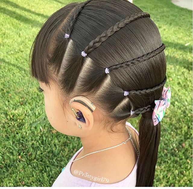 11 Peinados para ninas con trenzas faciles