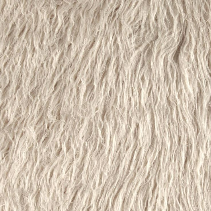 Alpaca Faux Fur Latte | Hawkfeather Designs | Pinterest ...