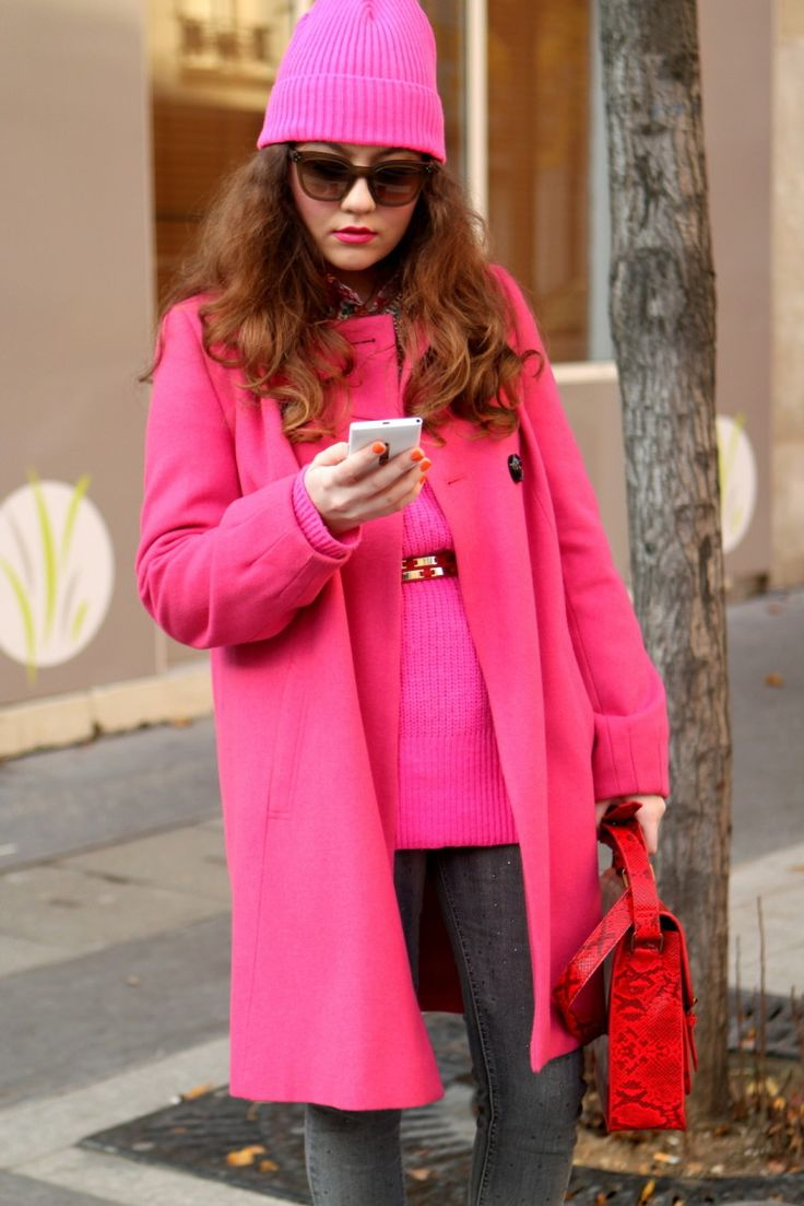 Pink Neon Streetstyle 3 - pictures, photos, images