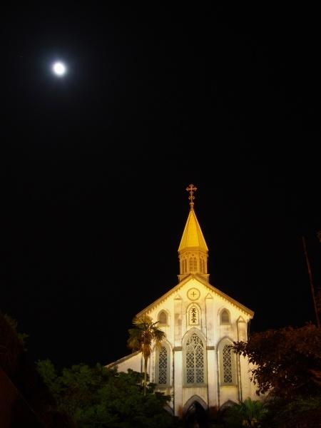 Oura Roman Catholic church in Nagasaki, Japan