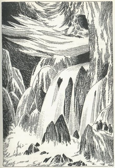 Tove Jansson Hobbit | by Tove Jansson for the Swedish publication of The Hobbit ...