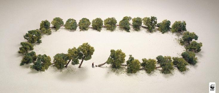 Os anúncios mais impactantes da WWF vão te fazer pensar sobre a natureza