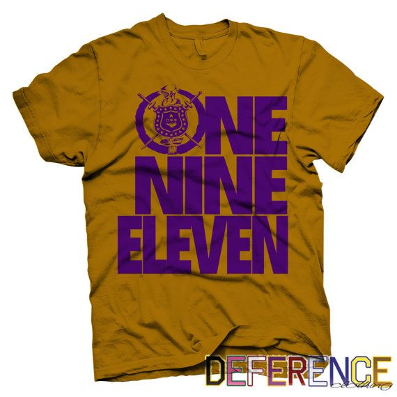 Omega Psi Phi Crest 19 by DeferenceClothing on Etsy