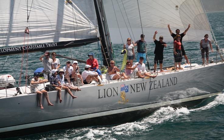 Teambuilding - Lion New Zealand http://www.corporateexplore.com/corporate-explore-lion-new-zealand-maxi-yacht.html