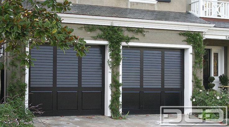 Dynamic Garage Door   Custom Architectural Garage Door : Coastal Cottage - LOVE these garage doors